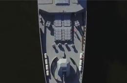 俄新型神盾舰海试画面看得人热血沸腾