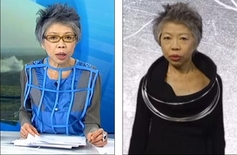 澳电视新闻主持怪诞穿衣风格惊人
