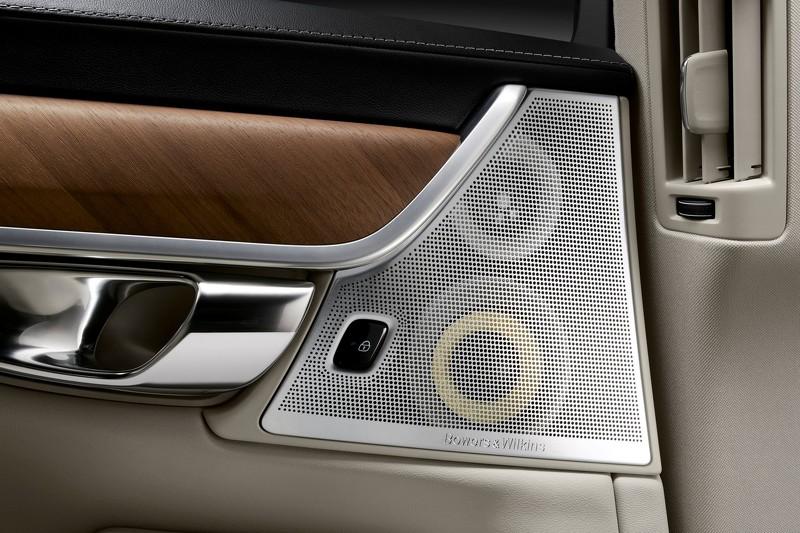沃尔沃S90最新预告图发布 细看优雅内舱高清图片