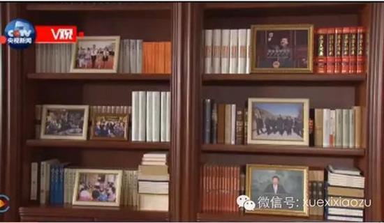 习近平中南海办公室书架藏书曝光