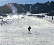 冬运会主赛场开门待客 雪场基础设施焕然一新