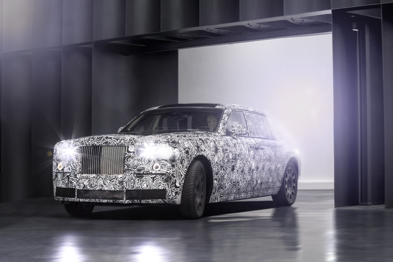 劳斯莱斯测试铝制车身架构 2018年推广