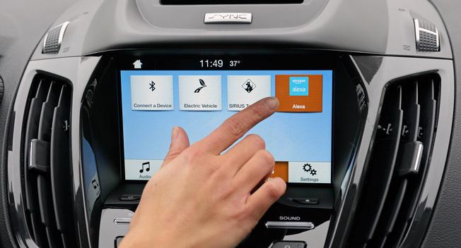 福特发布新车联技术 连接汽车与家居