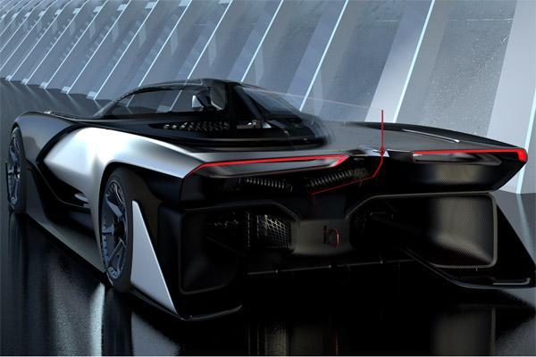 法拉第ZERO1与乐视超级汽车是双胞胎?
