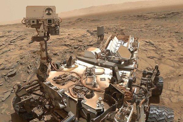 """360度火星全景照公布 揭""""黑暗区""""真容"""