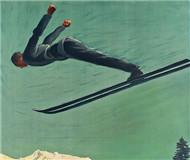 欧洲老版滑雪海报拍卖 197张价值963万(图)