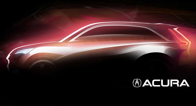 讴歌新跨界概念车将亮相底特律 品牌复兴打响