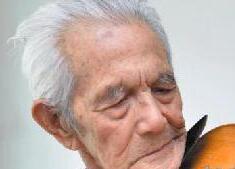 98岁老兵:用崭新的小提琴继续奏响爱国旋律