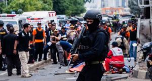 印尼雅加达发生连环爆炸 IS宣布策动恐袭