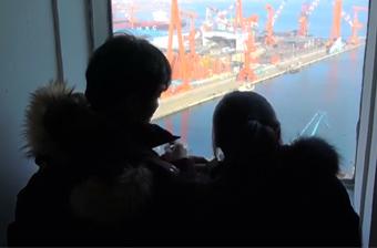 韩国电视台偷拍中国航母建造过程