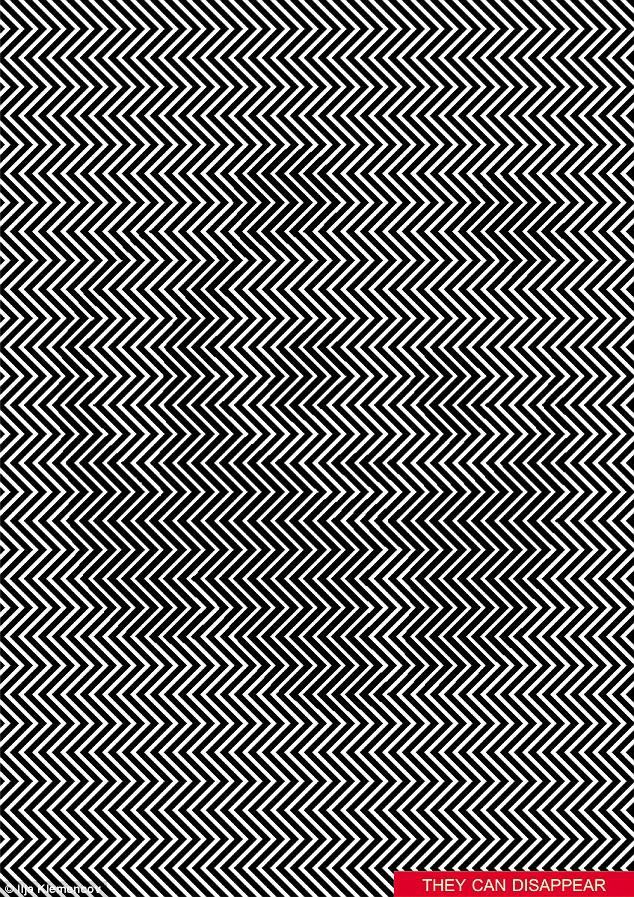 看花你的眼!俄艺术家制作视觉错觉图引爆网络