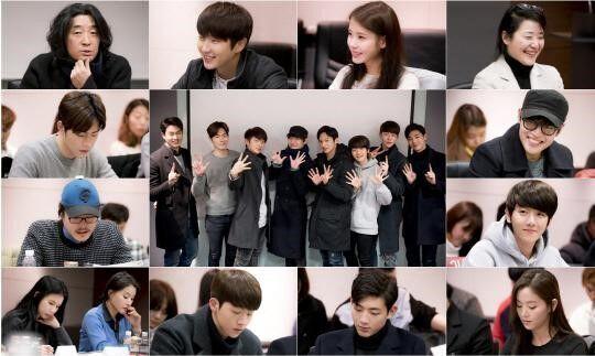 韩版《步步惊心》首次剧本练习照 俊男美女齐聚