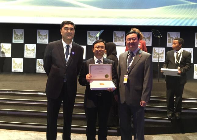 扎耶德未来能源奖揭晓 中国新能源车企赢得潘基文喝彩