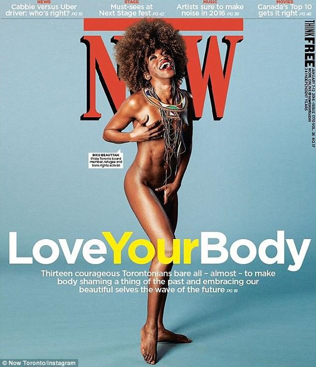 加拿大杂志登民众裸照 呼吁大家热爱自己身体