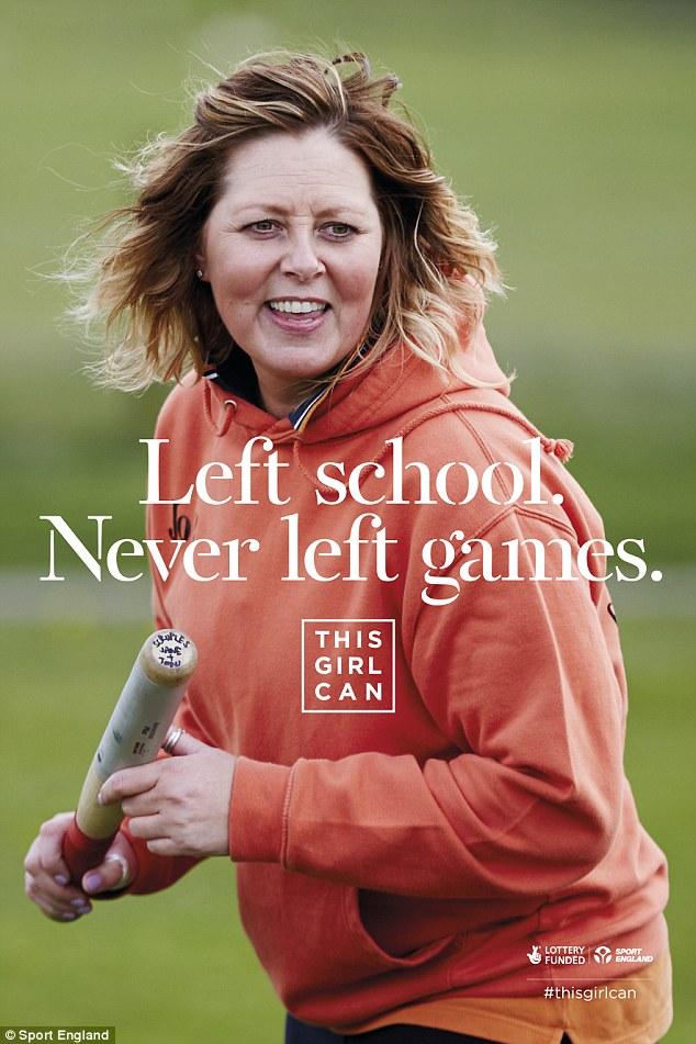 英乳腺癌患者受邀拍健身海报 鼓励女性参加体育活动