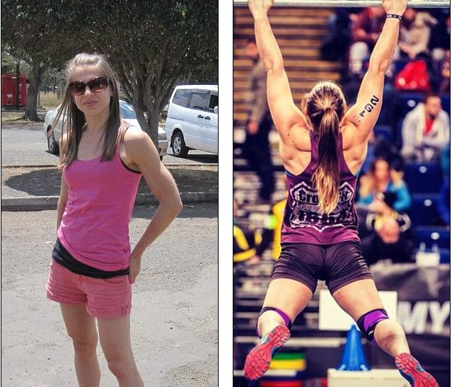 英弱女子猛练18个月变成国际举重冠军