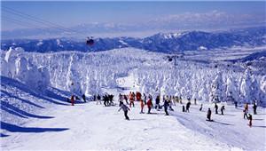 去日本阿信的故乡滑雪泡汤