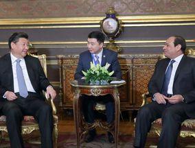 习近平会见埃及总统塞西