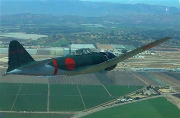 """日本""""复活""""二战主力战机 曾参与侵华战争"""