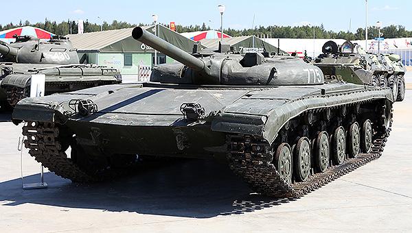 前苏联775火箭坦克造型奇特