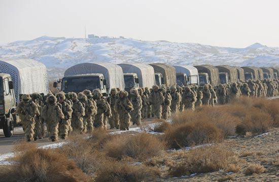 海军陆战队戈壁训练全配伪装服