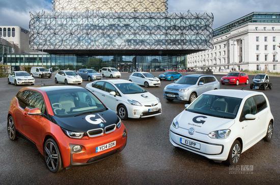英国8城获4000万英镑发展电动汽车