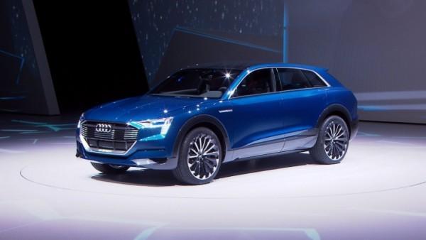 奥迪计划2016年生产电动SUV 瞄准特斯拉Model X