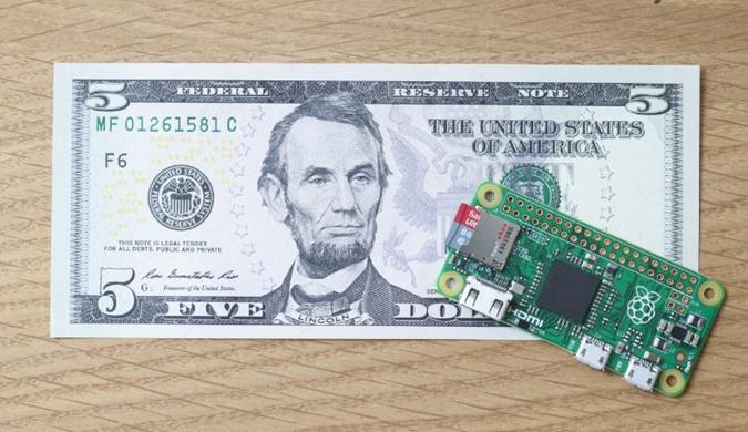 最便宜5美元 盘点10款仅手掌大小电脑