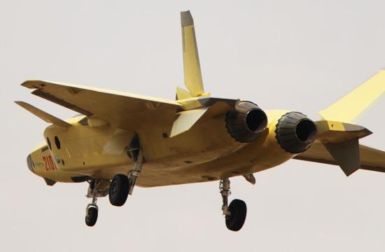 2101号歼20试飞照发动机看清