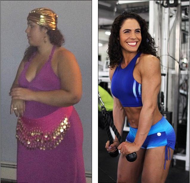 胖妈妈成功逆袭 参加国际健美比赛