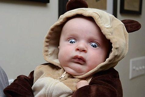 这样的宝宝只能说太会玩了