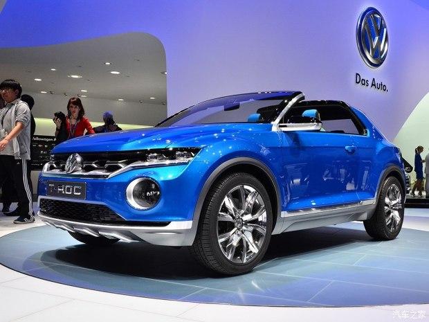 UV阵营壮大 大众将推全新SUV T-Cross-新车图片