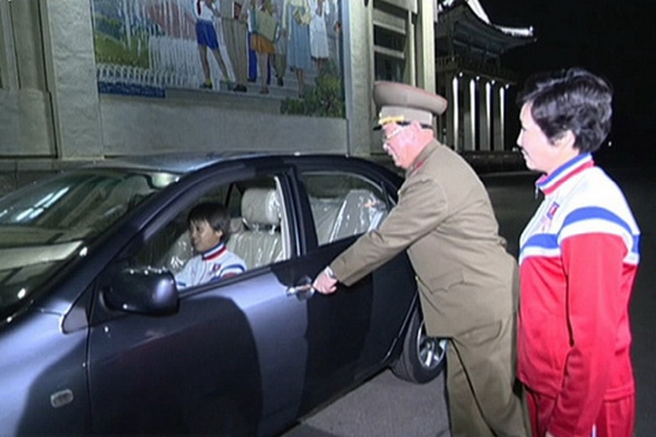 """朝鲜向夺冠女足授予""""劳动英雄""""等称号 提供豪车公寓"""