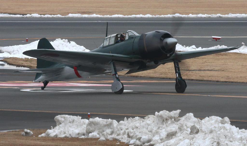 """日本""""零战""""试飞成功 二战杀人魔机时隔72年再升空"""