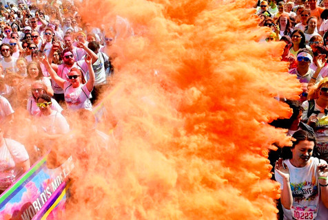 【2015·七彩环球】橙色