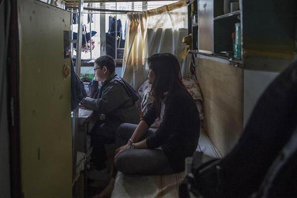 香港:17平方米劏房里的新年梦想
