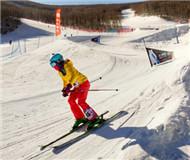 视频航拍:雪仗助力双板选手不断加速冲刺
