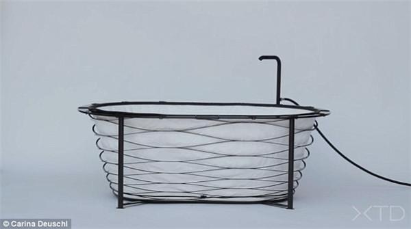 担心旅馆内没有浴缸?新款便携式浴缸为您轻松解忧