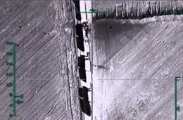 俄军公布轰炸叙极端武装最新画面