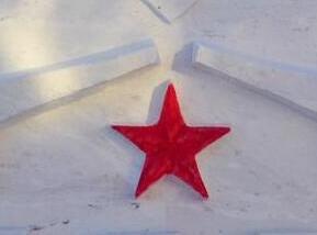 武警森林部队冰雪作品扮靓北疆警营(组图)