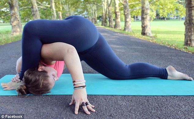 美200斤胖妞变瑜伽达人 可做高难度动作