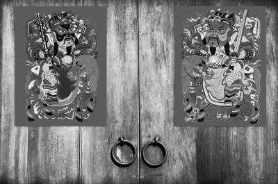 五花八门的门神形象:神荼和郁垒到钟馗和魏征