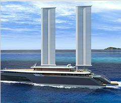 法国公司建造环保游艇