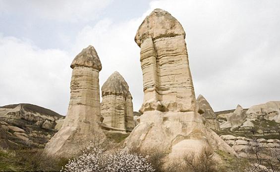 大自然杰作 让人遐想非非的土耳其爱谷