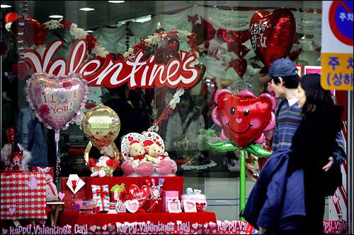 韩国竟有21个情人节