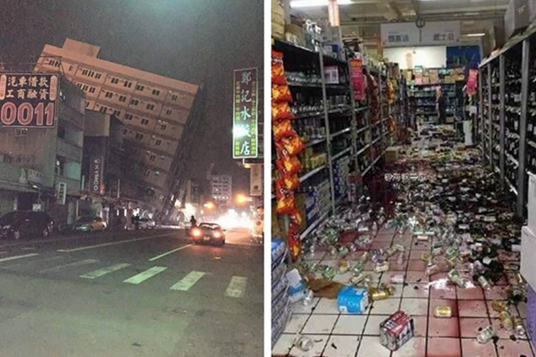 台湾高雄发生6.7级地震 已造成多人死亡