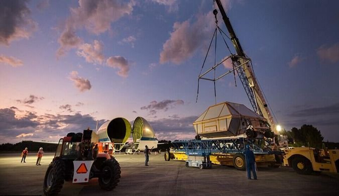 """""""猎户座""""2018年首次试飞 即将开启太空之旅"""