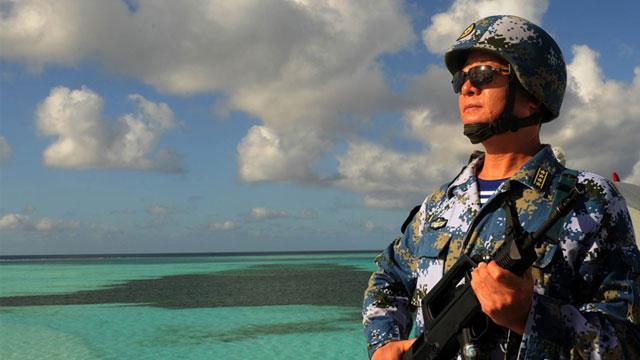 赤瓜礁战斗英雄28年后再回南沙