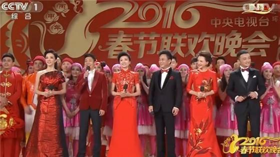 2016央视春晚主持人出场 众分会场亮相