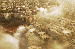 航拍叙利亚:炮灰摧残下的大马士革